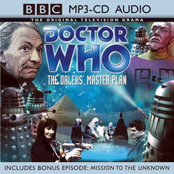 MP3 CD-Audio - The Daleks' Master Plan
